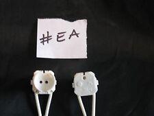2 x t5 Lampada Fluorescente Titolare 100cm Cavo Bianco 1 COPPIA UK venditore #ea