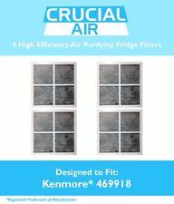 4 REPL Kenmore Elite 9918 Air Purifying Fridge Filters Part # 469918 04609918000