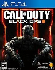 Used PS4 Call of Duty Black Ops III  SONY PLAYSTATION 4  JAPANESE  IMPORT