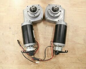 PAIR Right & Left Drive Motors for Permobil C300 C350 Power Chair Wheelchair