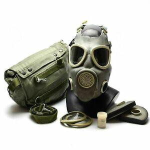 Genuine Polish Army Surplus NOS MP4 Respiratory Gas Mask NBC 1987-88 preppers