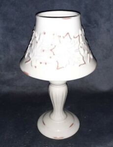 Yankee Candle Tea Light Holder Lamp - Milk Leaf Pattern - 1101641