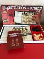 INITIATION AUX ÉCHECS Jeu De société Vintage