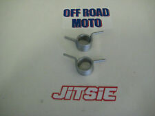 JITSIE TRIALS BIKE FOOTREST SPRINGS. UNIVERSAL. FITS ALL. BRAND NEW! **PAIR**