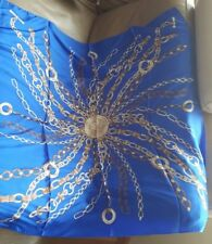 Altea Chain link Silk Scarf MADE IN ITALY NEW $119