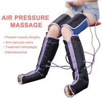 Leg Air Massager Compression Leg Wrap Electric Circulation Foot Calf Therapy US
