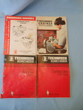 Tecumseh master parts manual 4 handbook cast iron over head valve 4 cycle