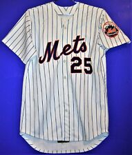 New York Mets Jay Payton Game Worn Mlb Jersey