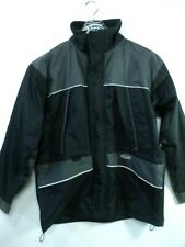 Snap On Tools Choko Tech Apparel  Men Vented Jacket Black Gray sz XL