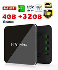 H96 MAX X2 Amlogic S905X2 Android 8.1/ 9.0 4GB DDR4 RAM 32GB ROM Android TV Box