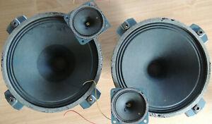 Isophon P210 Breitbandlautsprecher & HT 6  Alnico Hochtöner f Röhrenverstärker