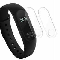 2X Screen Black Smart Wristband Fit For Xiaomi Mi 2 Band Bracelet Monitor Watch
