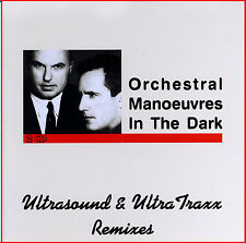 """OMD - Orchestral Manoeuvres In The Dark  """"Ultrasound & UltraTraxx Remixes"""" 2-cd!"""