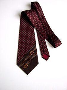 Ermenegildo Zegna Top Vintage 70 New Original Silk Made IN Italy