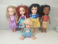 Disney Princess Toddler Dolls elsa moana   rapunzel ariel snow White
