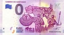 ESPAGNE Camino de Santiago, Chemin de Compostelle, 2019, Billet 0 € Souvenir
