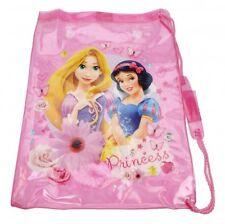Disney Princess Girls Childrens Waterproof Swimming Swim Bag Pink