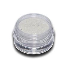 Glitter Glitzer Puder Weiß Nail Art Neu #00213-03