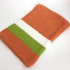 Kashwear Cushion Cover Pillow Case 16x11 Orange Green White New! Free Ship!