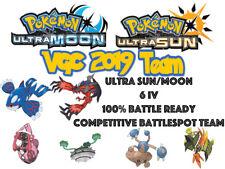 Pokemon Ultra Sun and Moon VGC 19 2019 6IV Battlespot Kyogre Yveltal Team