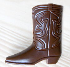 "1969 MOD KEN 12"" mattel barbie doll boots -- RALLY GEAR -- One (1) COWBOY BOOT"