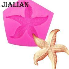 Molde Jabon estrellas de mar decoración pastel Chocolate herramientas hágalo usted mismo sea Star Fondant silicio