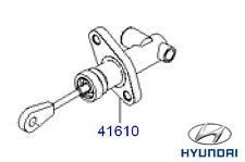 Genuine Hyundai Tucson Clutch Master Cylinder - 4161017920