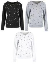 Damen-Pullover & -Strickware aus Baumwolle mit Rundhals Sterne