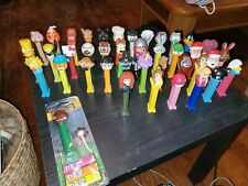 Vnt Pez candy dispener collection lot of 53 misc variety