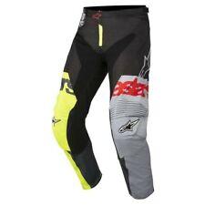 Alpinestars Men's MX Pant S8 Racer Flagship Yellow Fluo/Black/Anthracite Size 32