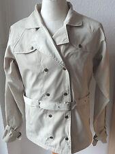BR, leichte Damen Jacke länger geschnitten, beige Gr. L, Jacke, Reitjacke