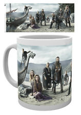 Vikings Beach 10oz Ceramic Mug Ragnar Action TV Series Tea Coffee Cup