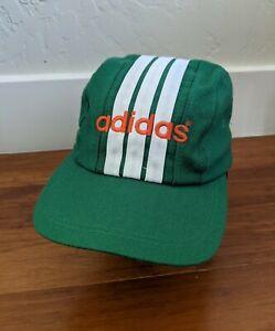 Vintage Adidas Ireland Soccer Snapback Hat Cap Football Association Ireland