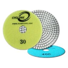 Cyclone Engineered Stone White Resin Polishing Pad - 1500 Grit