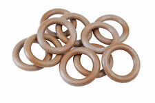 """Proops Macrame Rings 50mm 2"""" Pack of 10 String Knotting Craft S7332"""