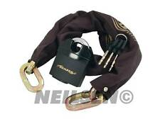 Motorcyle Bike Motorbike Security Chain Disc Lock Heavy Duty Padlock 1.8M New