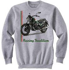 Moto Guzzi Nevada 750 Inspiré-NOUVEAU Amazing Graphique Gris Sweat S-M-L-XL - XXL