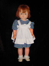 "Big Large Vtg 27"" Horsman Horseman T27 Ruthie Walker Doll-shut sleep eye-auburn"