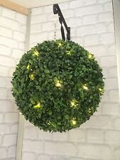 2xtopiary Ball With 50solar Lights