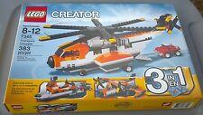 NIB Lego 7345 Creator 3 in 1 Transport Chopper 383 pc  *Sealed Box*