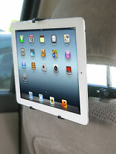CommuteMate Headrest Tablet Mount iPad Nook Kindle Fire car truck travel tech