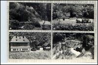 WASCHLEITHE Erzgebirge Sachsen DDR Mehrbild-AK Heimatecke, Moosheide, Bockau uvm