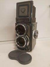 Rolleiflex  4x4 baby grey film camera