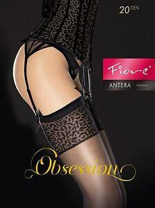 FIORE Antera Luxury Super Fine 20 Denier Sheer Stockings - 2 Colours Available