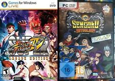 Super Street Fighter IV - Arcade Edition & Sengoku Anthology  new&sealed