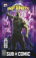 INFINITY COUNTDOWN #3 DRAX HOLDS INFINITY VARIANT (MARVEL 2018 1st Print) COMIC
