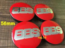 Centro DI RICAMBIO FIAT borchie 60 mm rosso e cromo-SET DI 4
