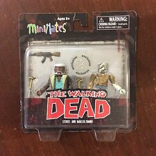 Walking Dead Minimates Series 7 EZEKIAL And MAULED ZOMBIE TRU exclusive Box Ship