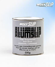 Molyslip Alumslip High Temperature Anti Seize Assembly Compound 500g tin / RDG