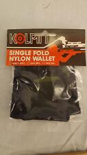 Vtg Kolpin Single Fold Camo Cordura Nylon Wallet NOS Berlin Wi USA Made  Hunting